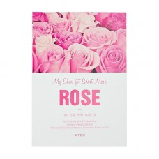 Маска интенсивное восстановление A'PIEU My Skin-Fit Sheet Mask (Rose)