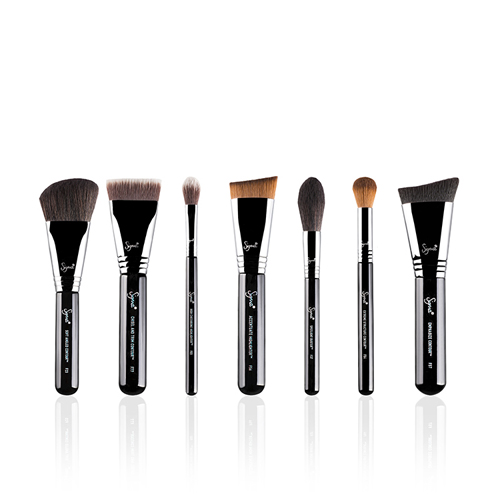 Набор кистей для хайлайтинга и контуринга Sigma Highlight and Contour Brush Set