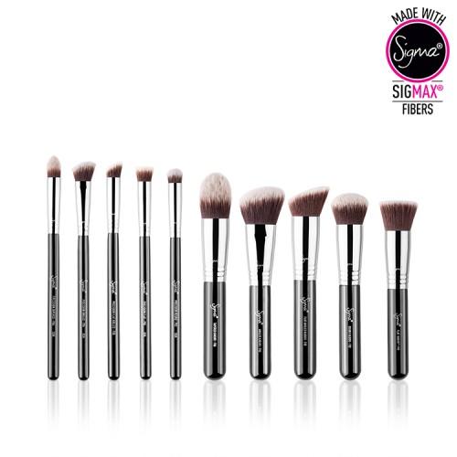 Полный набор кабуки Sigma Sigmax® Essential Kit 10 Brushes