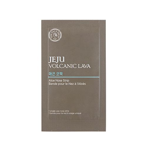 Ленточка от черных точек The Face Shop Jeju Volcanic Lava Aloe Nose Strip