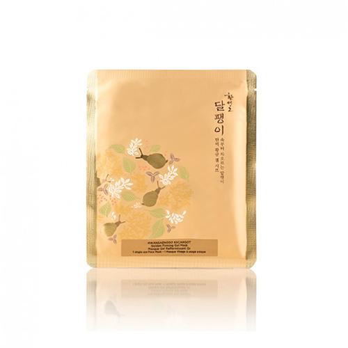Гидрогелевая подтягивающая маска для лица  The Face Shop Hwansaenggo Escargot Golden Firming Gel Mask
