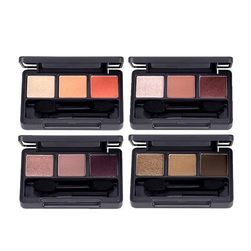 Тени для век трехцветные The Face Shop Triple Eyes