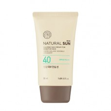 Успокаивающий солнцезащитный крем для чувствительной кожи