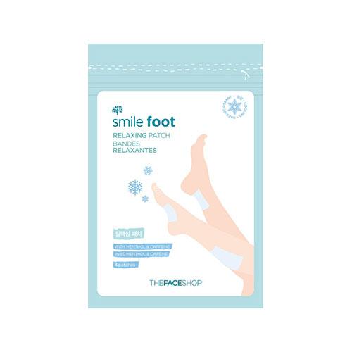 Расслабляющие патчи для ног The Face Shop Smile Foot Relaxing Patch