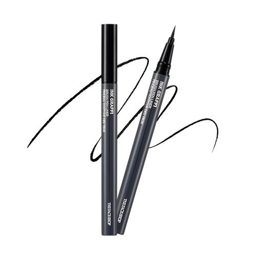 Жидкая подводка-карандашThe Face Shop Ink Graffi Brush Pen Eye Liner