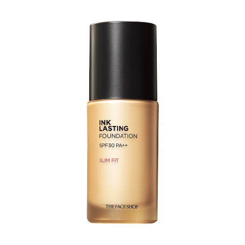 Тональная основа The Face Shop Ink Lasting Foundation Slim Fit SPF30 PA++