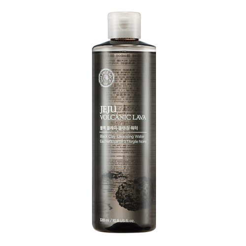 Очищающая вода The Face Shop Jeju Volcanic Lava Black Clay Cleansing Water