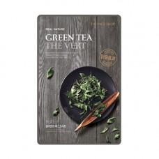 Маска для лица c экстрактом зеленого чая
