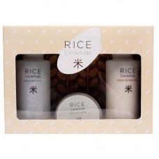 Увлажняющий набор с экстрактом риса и керамидами