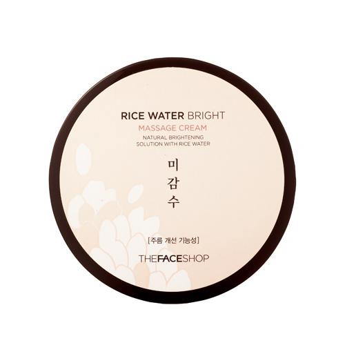 Массажный крем для лица с экстрактом риса The Face Shop Rice Water Bright Massage Cream