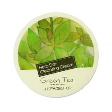Крем для снятия макияжа зеленый чай