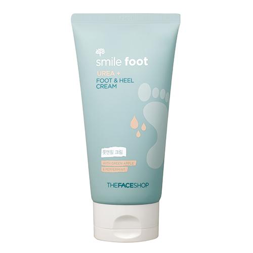 Крем для стоп и пяток The Face Shop Smile Foot Urea Plus Foot & Heel Cream