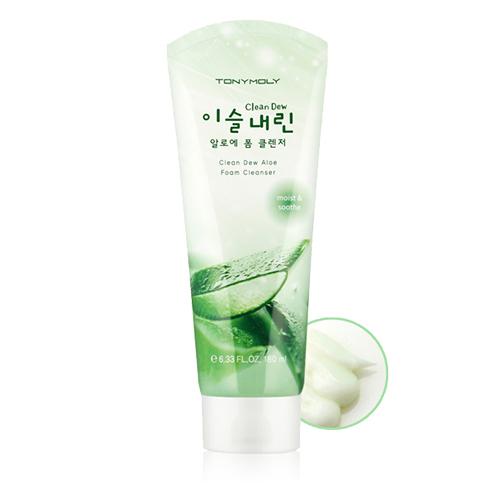 Tony Moly Clean Dew Aloe Foam Cleanser