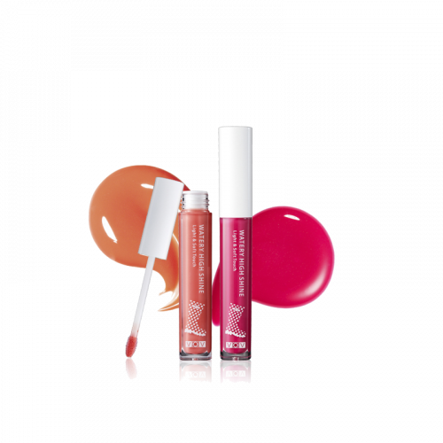 Блеск для губ VOV Lip Gloss Watery High Shine c защитой SPF15 от UV лучей