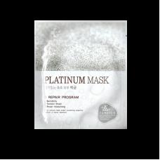 Тканевая маска с наночастицами платины