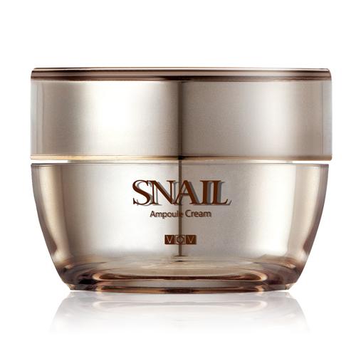 Улиточный питательный крем VOV Snail Ampoule Cream
